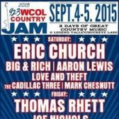 92.3 WCOL Country Jam tickets