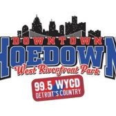 99.5 WYCD Downtown Hoedown - Saturday tickets