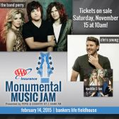 AAA Insurance Monumental Music Jam tickets