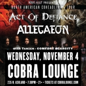Act Of Defiance & Allegaeon tickets