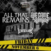 All That Remains  We Came As Romans tickets