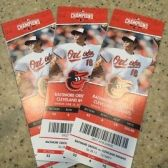 Baltimore Orioles vs. Cleveland Indians tickets