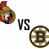 Boston Bruins Vs. Ottawa Senators tickets