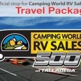 Camping World RV Sales 500 tickets