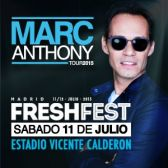 Freshfest (Marc Anthony) tickets