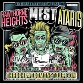 Hawthorne Heights, The Ataris & Mest tickets
