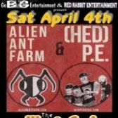 Hed Pe & Alien Ant Farm tickets