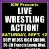 ICW: Live Pro Wrestling Action tickets