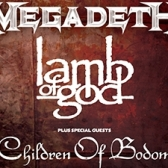 Lamb Of God  Children Of Bodom tickets