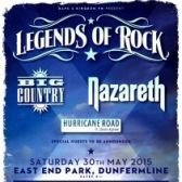Legends of Rock / Big Country, Nazareth tickets