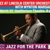 Lincoln Center and Wynton Marsalis tickets
