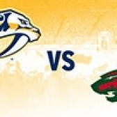 Nashville Predators vs. Minnesota Wild tickets