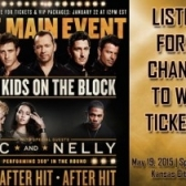 New Kids On The Block  TLC  Nelly tickets