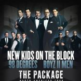 New Kids on the Block with 98 Degrees tickets