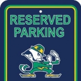 Parking: Notre Dame Fighting Irish tickets