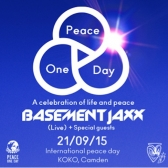 Peace One Day - Basement Jaxx live tickets