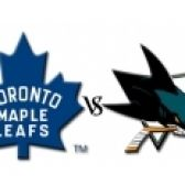 San Jose Sharks Vs. Toronto Maple Leafs tickets