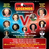 Snooker Legends tickets