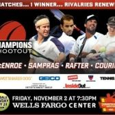 Tennis Champions Shootout tickets