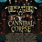 Testament & Cannibal Corpse tickets