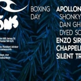 Tribal Sessions, Boxing Day,  Apollonia tickets