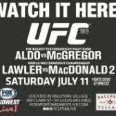 UFC 189 Viewing Party tickets