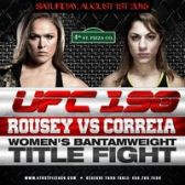UFC 190 Rousey vs Correia Viewing Party tickets
