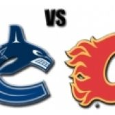 Vancouver Canucks Vs. Calgary Flames tickets