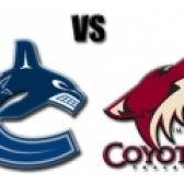 Vancouver Canucks vs. Phoenix Coyotes tickets