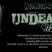 Wednesday 13 (acoustic) tickets