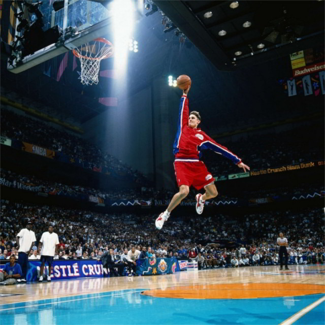 36 Amazing Dunks Never Done in the NBA Dunk Contest