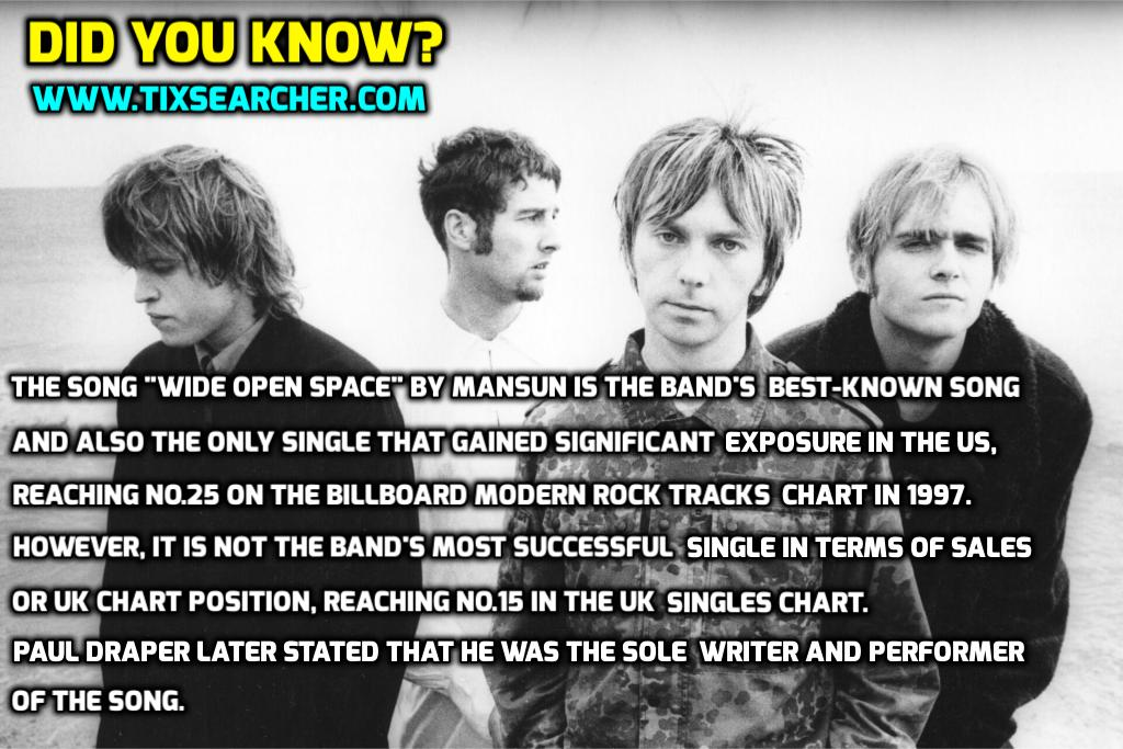 Mansun - Did You Know?